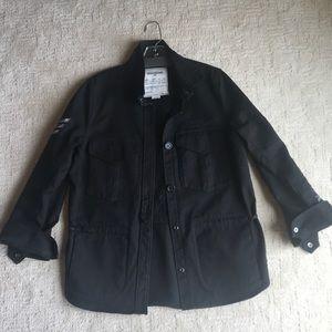 Zadig & Voltaire Black Jean Jacket